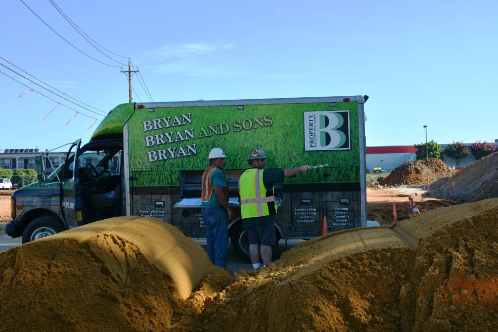 site work Aldis in Easton, MD